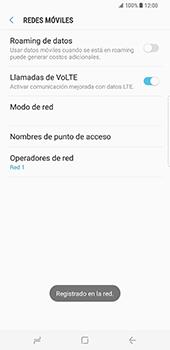 Samsung Galaxy S8 Plus - Red - Seleccionar una red - Paso 11