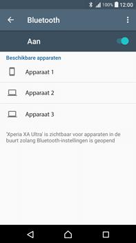 Sony F3211 Xperia XA Ultra - WiFi en Bluetooth - Bluetooth koppelen - Stap 6