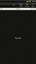 HTC T328e Desire X - E-mail - Sending emails - Step 4