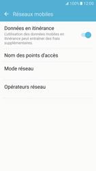 Samsung Samsung G925 Galaxy S6 Edge (Android M) - Internet - Désactiver du roaming de données - Étape 5