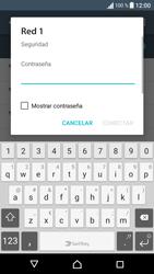 Sony Xperia E5 (F3313) - WiFi - Conectarse a una red WiFi - Paso 7