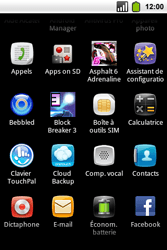Alcatel OT-991 Smart - E-mail - Configuration manuelle - Étape 3