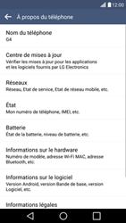 LG H525N G4c - Réseau - Installation de mises à jour - Étape 7