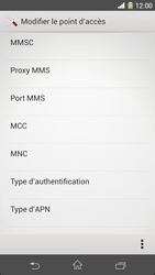 Sony C6903 Xperia Z1 - MMS - Configuration manuelle - Étape 11