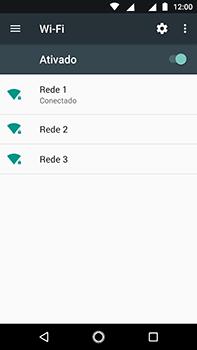 Motorola Moto Z2 Play - Wi-Fi - Como configurar uma rede wi fi - Etapa 8