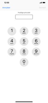 Apple iPhone XS Max - Beveiliging - pas de pincode voor je simkaart aan - Stap 6