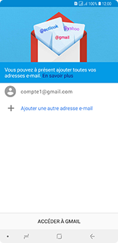 Samsung Galaxy A7 2018 - E-mails - Ajouter ou modifier votre compte Gmail - Étape 13