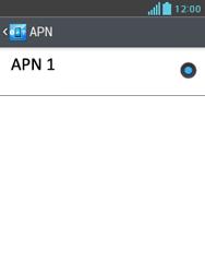 LG Optimus L3 II - Mensajería - Configurar el equipo para mensajes multimedia - Paso 7