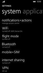 Nokia Lumia 530 - Internet - Enable or disable - Step 4