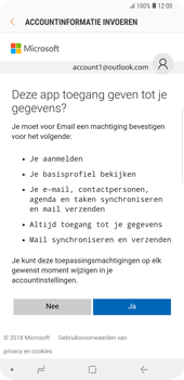 Samsung Galaxy S9 Plus - E-mail - handmatig instellen (outlook) - Stap 8