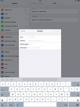 Apple iPad Pro 12.9 (1st gen) - iOS 10 - E-mail - Configuration manuelle - Étape 7