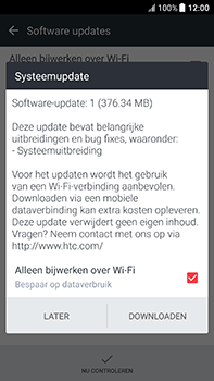 HTC U11 - Software updaten - Update installeren - Stap 7
