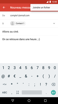 Huawei Nexus 6P - Android Oreo - E-mail - envoyer un e-mail - Étape 9