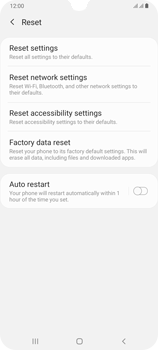 Samsung Galaxy A70 - Device - Factory reset - Step 7