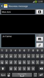 Samsung Galaxy S4 - Contact, Appels, SMS/MMS - Envoyer un SMS - Étape 10
