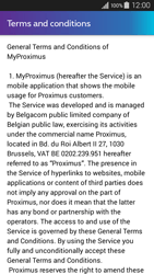 Samsung Galaxy A3 (2016) - Applications - MyProximus - Step 11