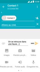 Wiko Rainbow Lite 4G - Contact, Appels, SMS/MMS - Envoyer un MMS - Étape 12