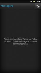 Sony Xpéria S - Contact, Appels, SMS/MMS - Envoyer un SMS - Étape 4