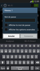 Samsung I9295 Galaxy S IV Active - Wifi - configuration manuelle - Étape 6
