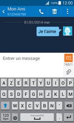 Samsung Galaxy Ace 4 - Contact, Appels, SMS/MMS - Envoyer un SMS - Étape 11