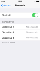 Apple iPhone 5s - Bluetooth - Conectar dispositivos a través de Bluetooth - Paso 5