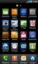 Samsung I5800 Galaxy Apollo - Internet - configuration manuelle 2.2 - Étape 3