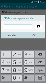 Samsung N910F Galaxy Note 4 - Messagerie vocale - configuration manuelle - Étape 11