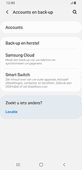 Samsung galaxy-s8-sm-g950f-android-pie - Instellingen aanpassen - Back-up maken in je account - Stap 5