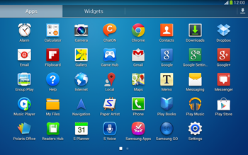 Samsung P5220 Galaxy Tab 3 10-1 LTE - Internet - Enable or disable - Step 3