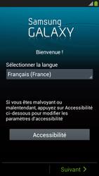 Samsung Galaxy S4 Mini - Premiers pas - Créer un compte - Étape 2