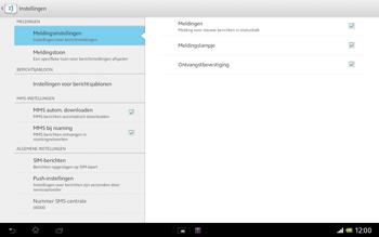 Sony SGP321 Xperia Tablet Z LTE - MMS - probleem met ontvangen - Stap 7