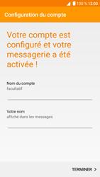 Alcatel Shine Lite - E-mail - Configuration manuelle - Étape 18