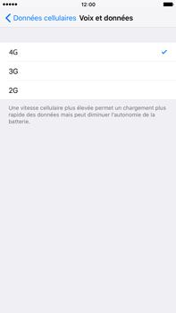 Apple iPhone 6s Plus - Internet et connexion - Activer la 4G - Étape 7