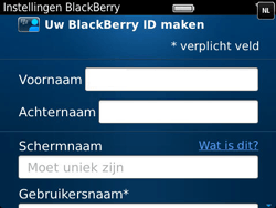 BlackBerry 9790 Bold - BlackBerry activeren - BlackBerry ID activeren - Stap 8