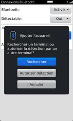 BlackBerry 9860 Torch - Bluetooth - Jumeler avec un appareil - Étape 8