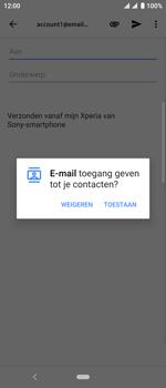 Sony xperia-10-I4113 - E-mail - Bericht met attachment versturen - Stap 5