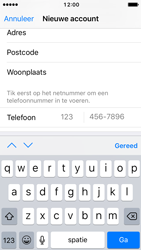 Apple iPhone 5c met iOS 10 (Model A1507) - Applicaties - Account aanmaken - Stap 22