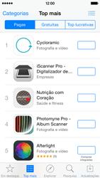 Apple iPhone 5s iOS 8 - Aplicações - Como pesquisar e instalar aplicações -  6