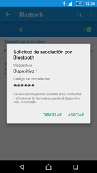 Sony Xperia Z5 - Bluetooth - Conectar dispositivos a través de Bluetooth - Paso 7
