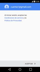 LG K10 4G - E-mail - Configurar Gmail - Paso 14