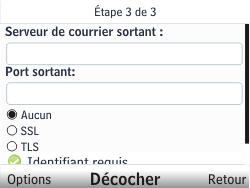 Nokia C3-00 - E-mail - Configuration manuelle - Étape 10