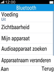 Alcatel 2045 (2045X) - Bluetooth - Aanzetten - Stap 3