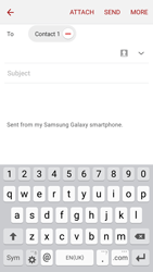 Samsung J320 Galaxy J3 (2016) - E-mail - Sending emails - Step 8