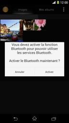 Sony Xpéria Z1 - Photos, vidéos, musique - Envoyer une photo via Bluetooth - Étape 11