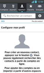 LG Optimus L5 II - Contact, Appels, SMS/MMS - Ajouter un contact - Étape 4
