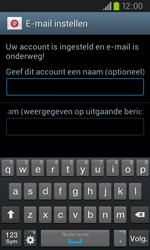 Samsung I9105P Galaxy S II Plus - E-mail - e-mail instellen: IMAP (aanbevolen) - Stap 16