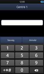 Samsung S8600 Wave 3 - SMS - configuration manuelle - Étape 7