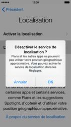 Apple iPhone 5c (iOS 8) - Premiers pas - Créer un compte - Étape 11