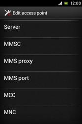 Sony ST23i Xperia Miro - Internet - Manual configuration - Step 13