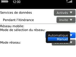BlackBerry 9300 Curve 3G - Réseau - Utilisation à l